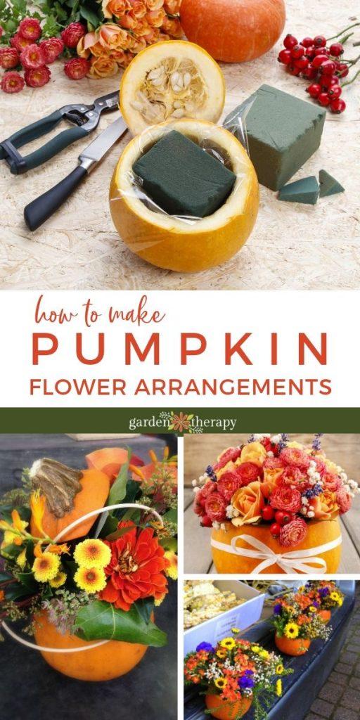 How to Make Fabulous Pumpkin Flower Arrangements for Fall
