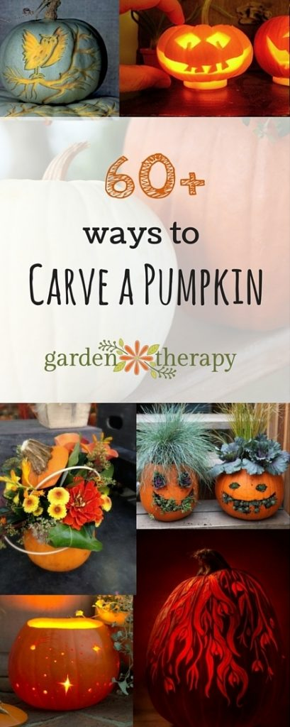 More than 60 ways to carve, decorate or imitate a pumpkin