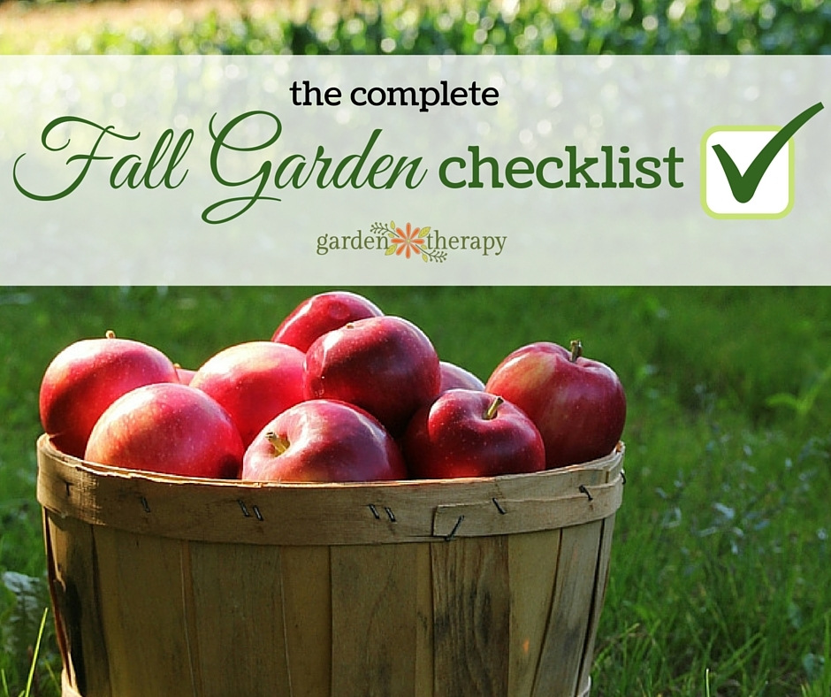 The Complete Checklist for the Fall Garden