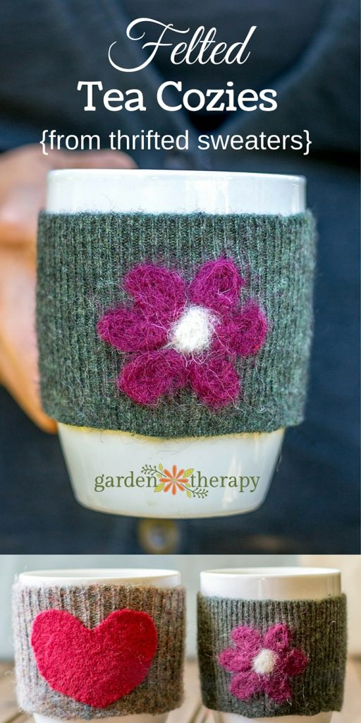 DIY Felted Tea Cozies