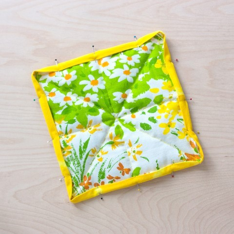 DIY Herb Scented Hot Pad for Tea Sewing Instructions Step (16)