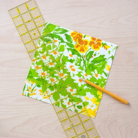 DIY Herb Scented Hot Pad for Tea Sewing Instructions Step (4)