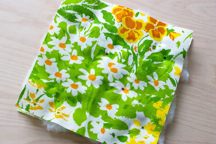 DIY Herb Scented Hot Pad for Tea Sewing Instructions Step (5)