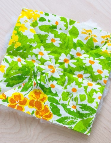 DIY Herb Scented Hot Pad for Tea Sewing Instructions Step (6)