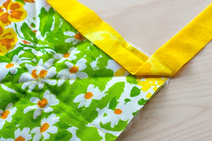 DIY Herb Scented Hot Pad for Tea Sewing Instructions Step (9)
