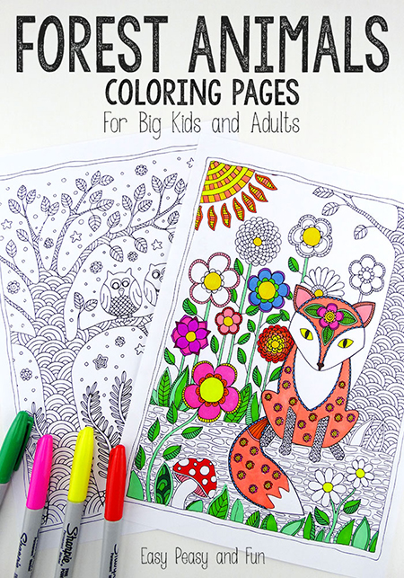 Coloring is not exclusive to kids anymore. Grab some markers and check out this list of free adult coloring pages that will satisfy the kid in you!