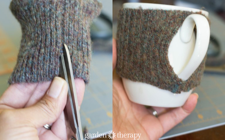 How to make a tea cozy for mugs