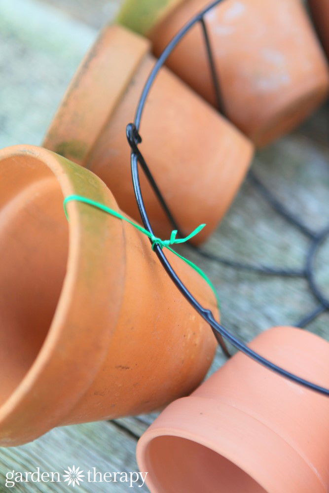 How to wire a multi pot planter