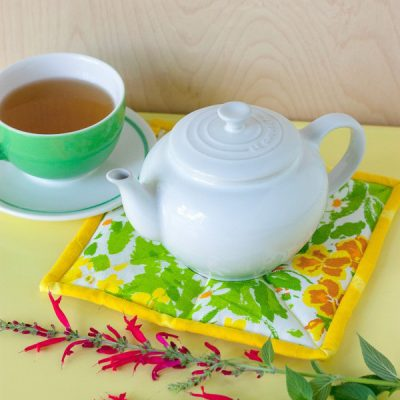 Sew Creative! Make this Herb-Scented Tea Trivet