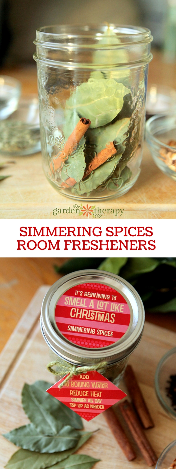 Make your home smell like the holidays with these simmering spices
