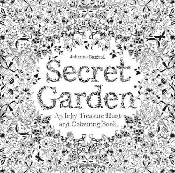 Secret Garden Coloring Book plus a free coloring page to print
