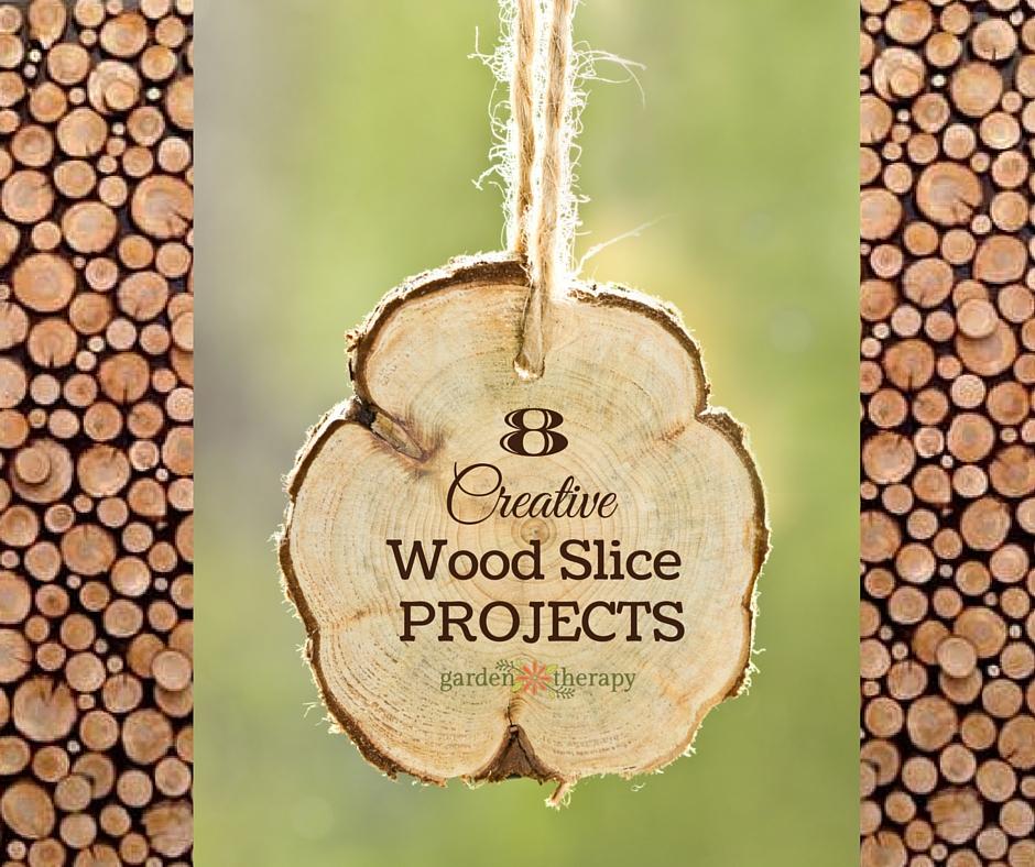 Creative Wood Slice Project Ideas