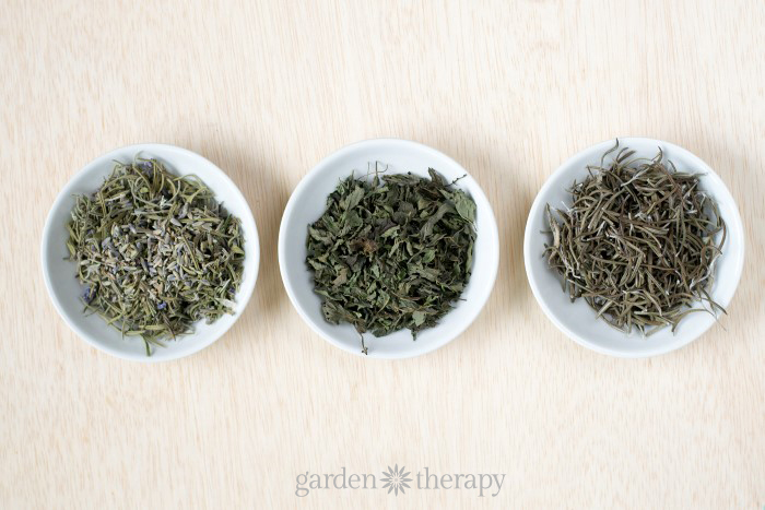 Dried Herbs for natural drawer fresheners