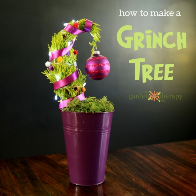 How To Make A Grinch Tree 2