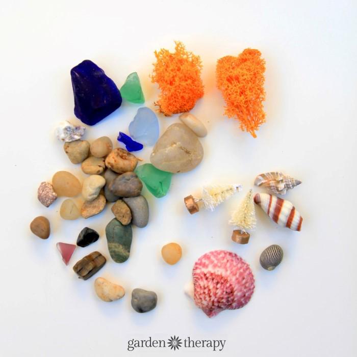 Materials for terrariums