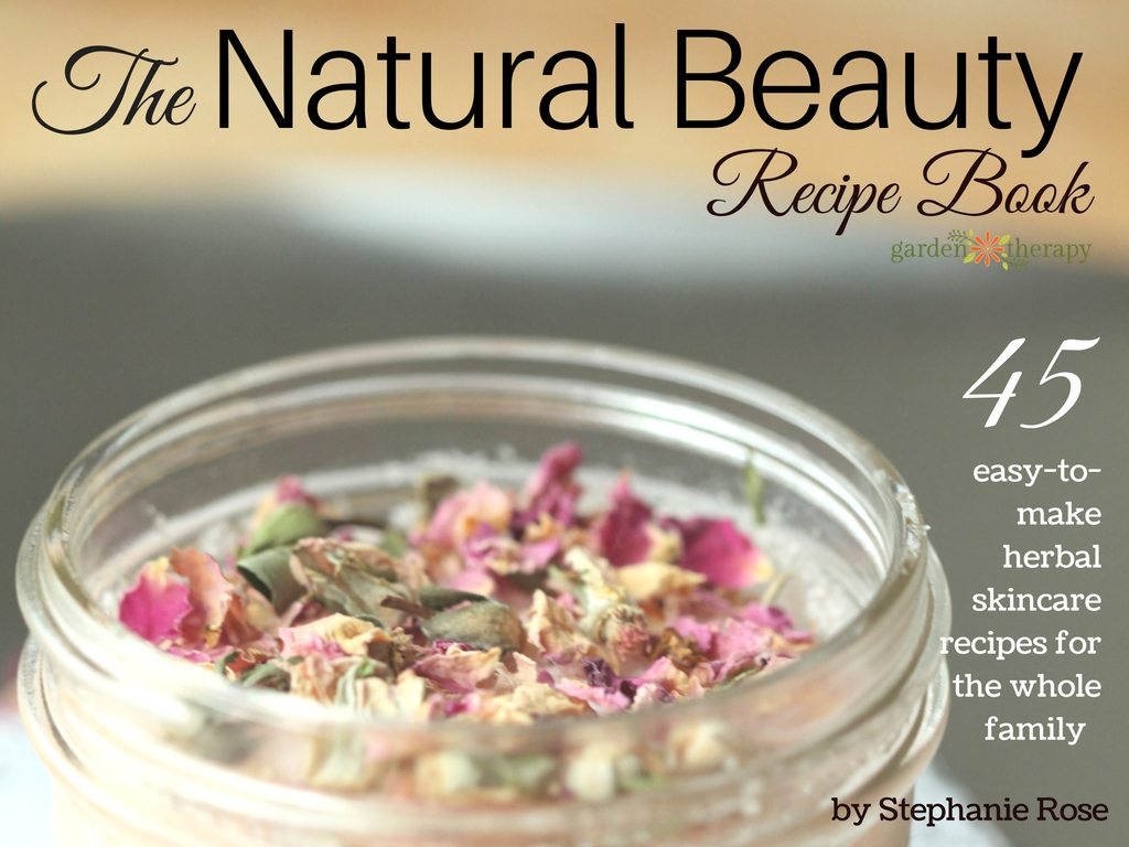 The Natural Beauty Recipe Book Title