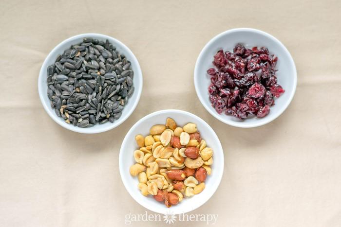 Wild Bird Food Ingedients