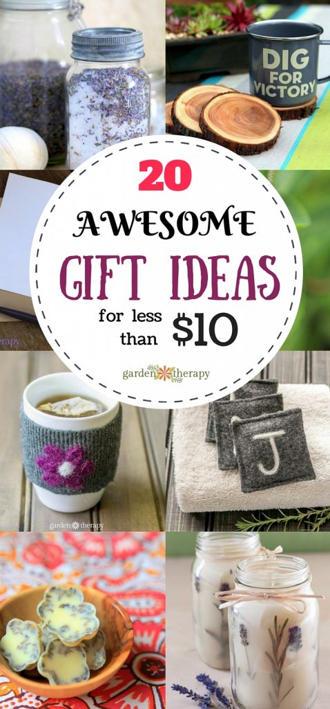 20 Gift Under Ten Dollars (that look like a million bucks!)