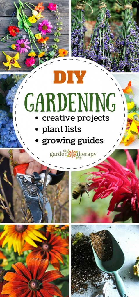 DIY Gardening Ideas, Projects, Plant Lists, and More!