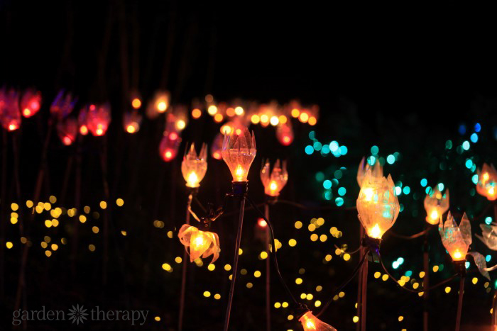 DIY Tulip Garden Lights 4