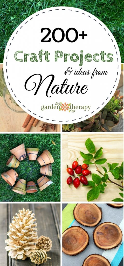 Easy and Beautiful Craft Projects and Ideas from the Garden and Nature