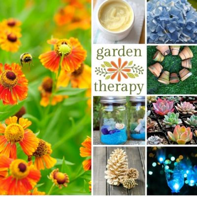 The Best of Garden Therapy: 25 Wildly Popular Garden & Craft Projects