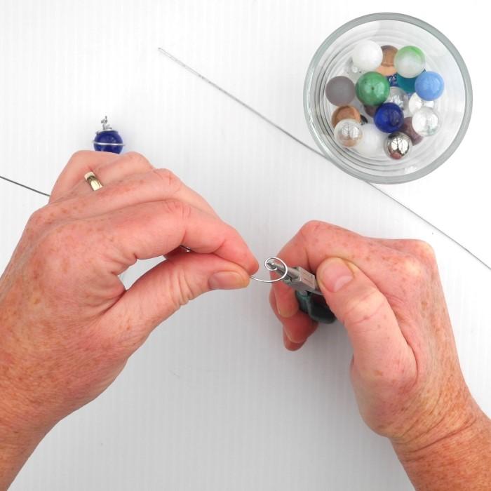 How to Make Minaiture Garden Gazing Balls (2)