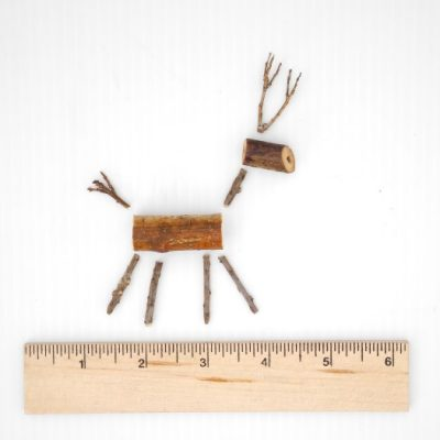 Make a Miniature Twig Reindeer Ornament