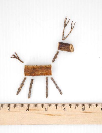 Make a Miniature Twig Reindeer Ornament