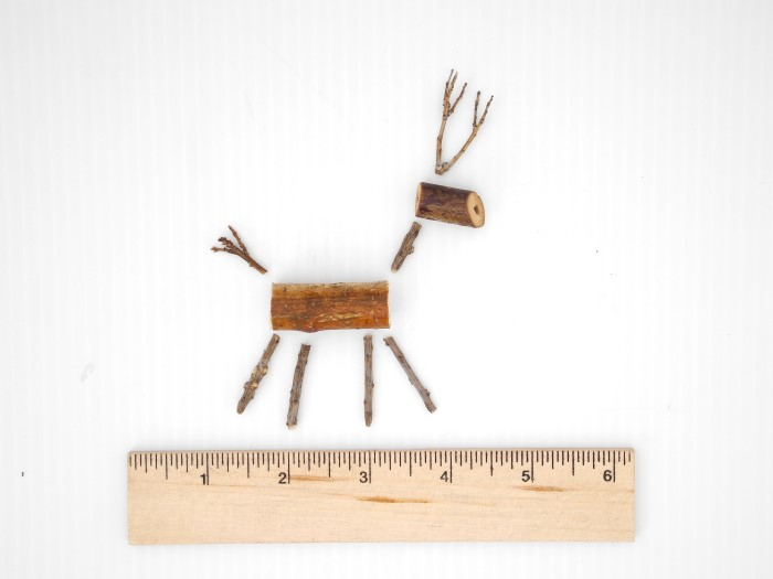 How to Make a Miniature Branch Reindeer (1)