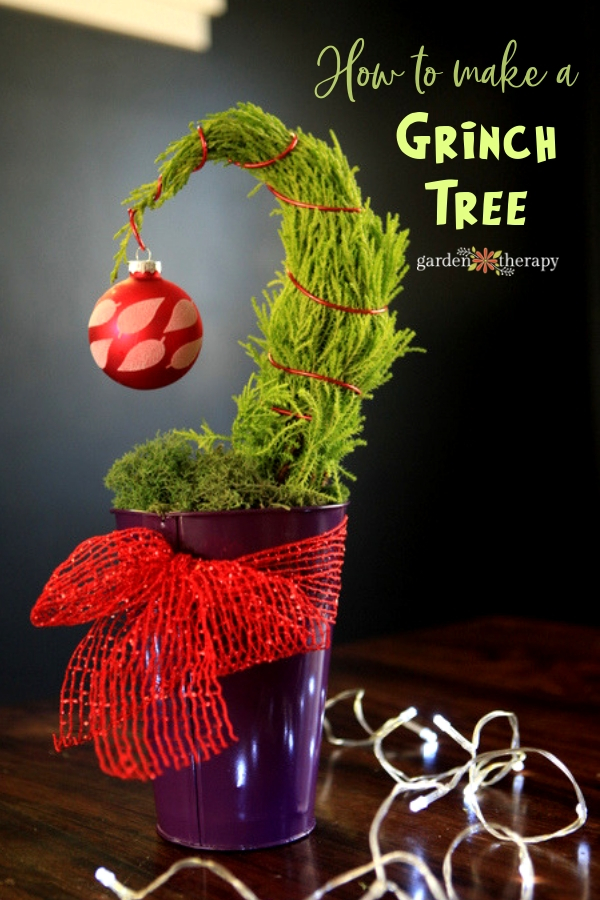 How to Make a Tabletop Grinch Tree (1)