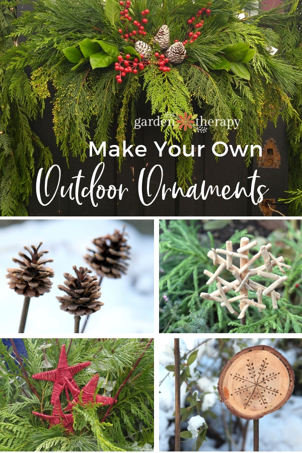 Make Your own outdoor ornaments
