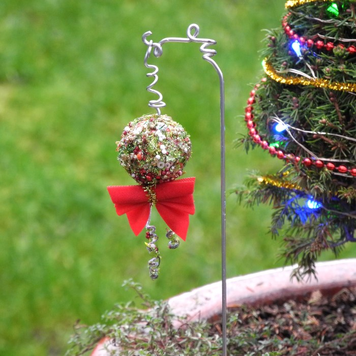 Miniature Garden Christmas Ornaments