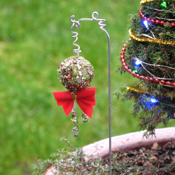 Miniature Garden Christmas Ornaments
