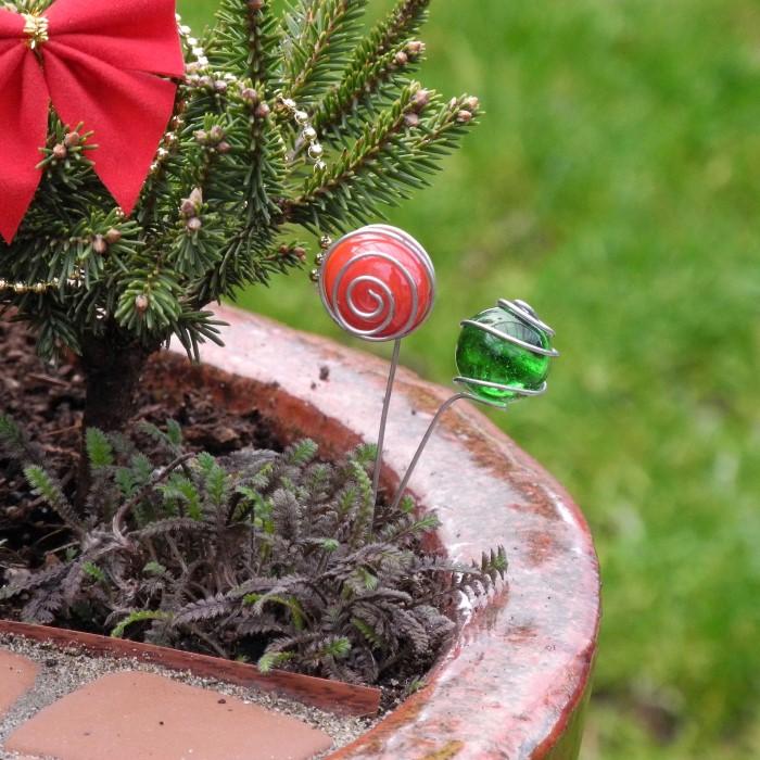 Miniature Garden Gazing Balls