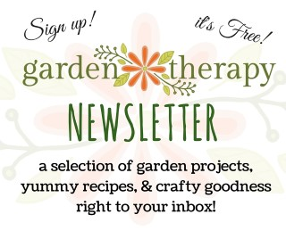 Sign Up For The Garden Therapy Newsletter