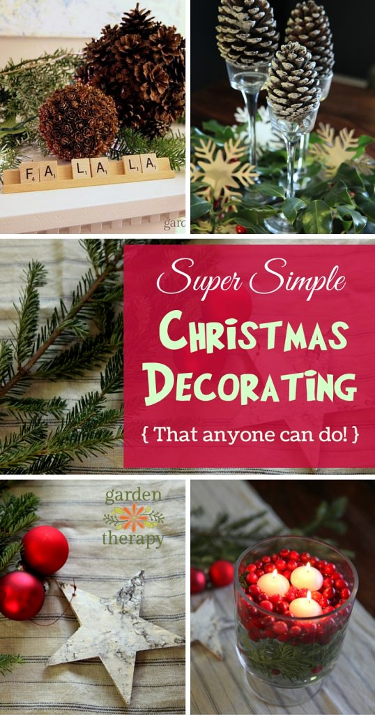 Super easy ways to decorate for the holidays that make you look like a superstar!