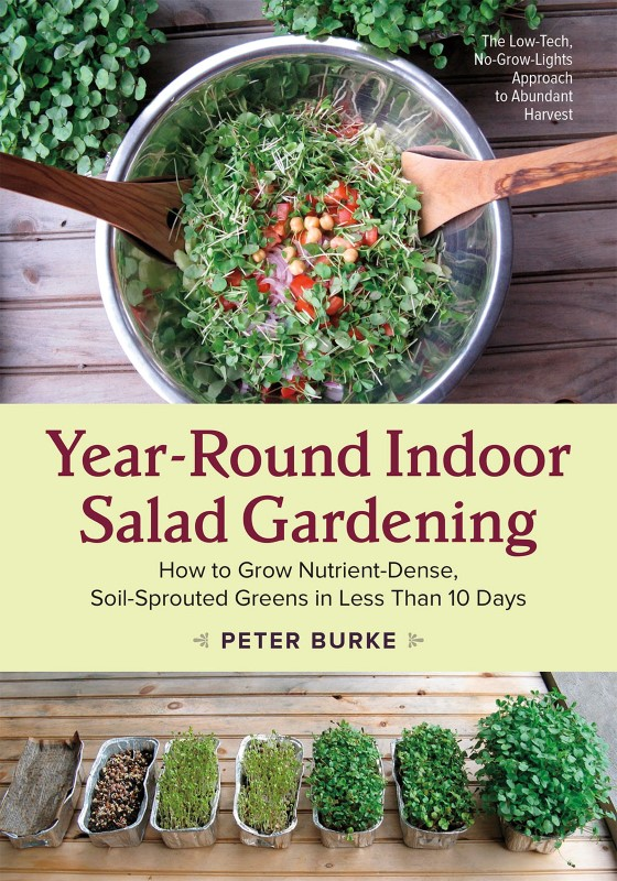 Year-Round Indoor Salad Gardening Book