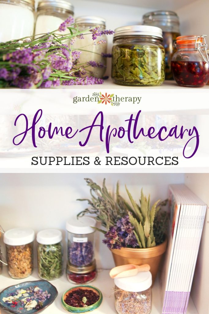 Home Apothecary supplies and resources