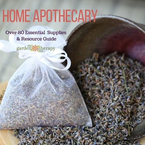 Create a Home Apothecary supplies and resources