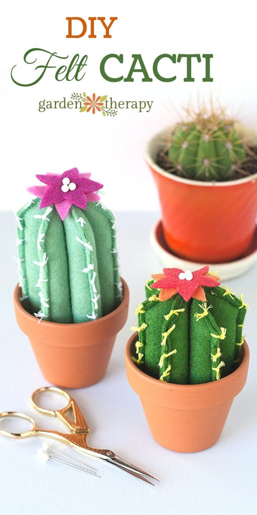 DIY Felt Cacti: How Adorable!