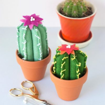 These Soft and Cuddly Felt Cacti Will Make You Smile