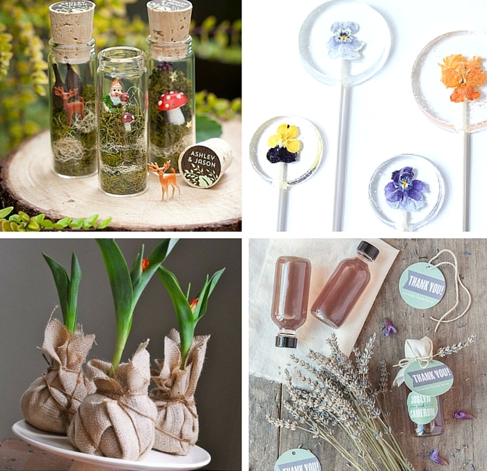 Garden Wedding Favors 1