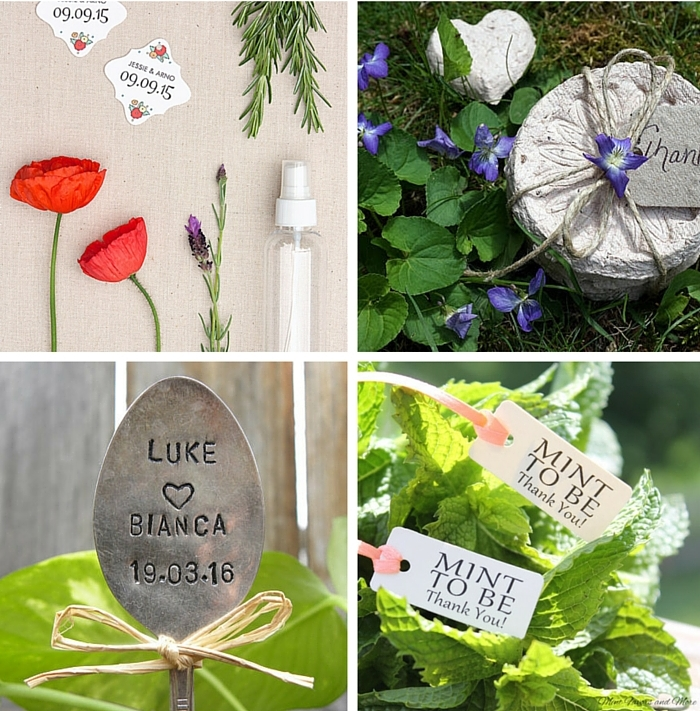 Garden Wedding Favors 2