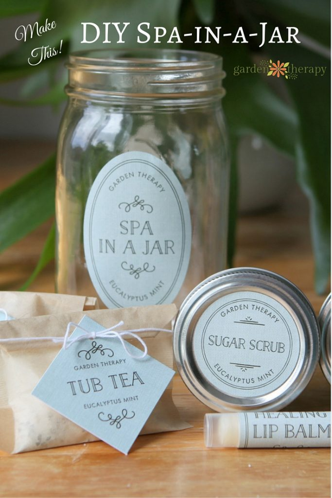 Make This! Spa in a Jar