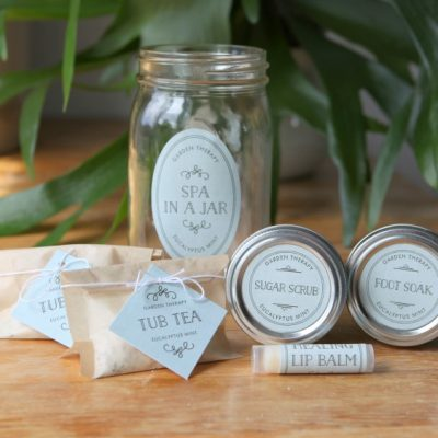 Give the Gift of Pampering with this Spa in a Jar!