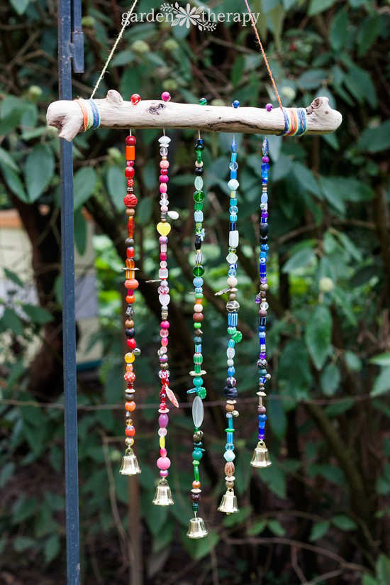 Beaded Wind Chime - Garden Therapy