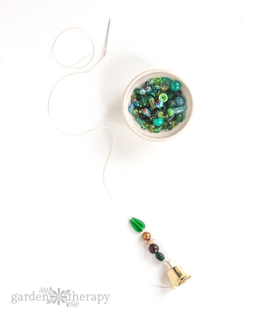 How to Make a Beaded Wind Chime with Bells Step (6)