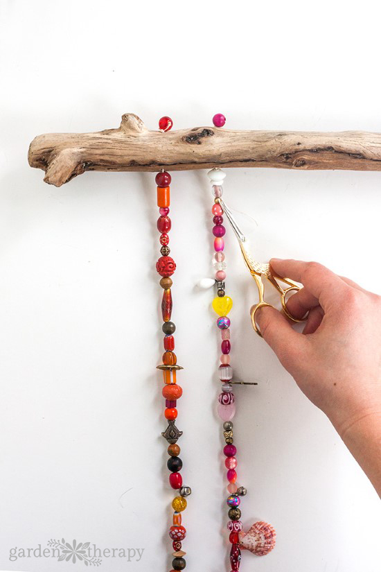 How to Make a Beaded Wind Chime with Bells Step (8)