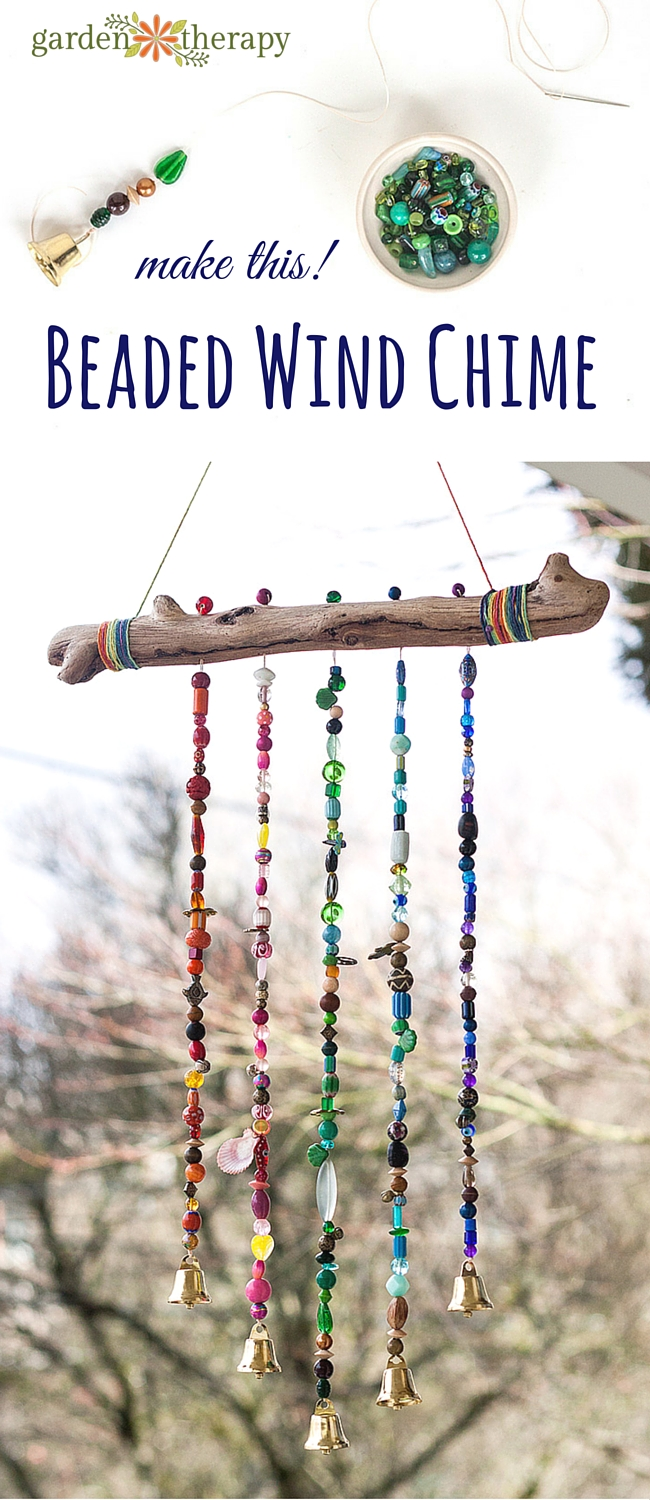 Add Sparkle to the Garden With This Beautiful Beaded Wind Chime ...